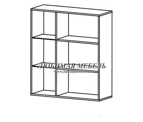 Шкаф настенный Соматик (правый) (фото, вид 1)