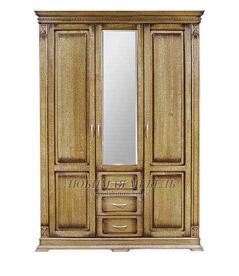 Шкаф трехдверный Верди (фото, вид 1)