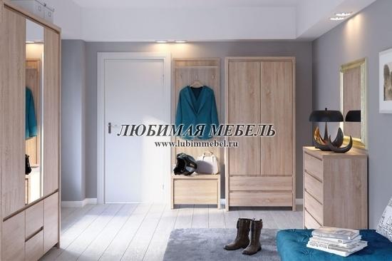Шкаф с зеркалом Каспиан (фото, вид 1)