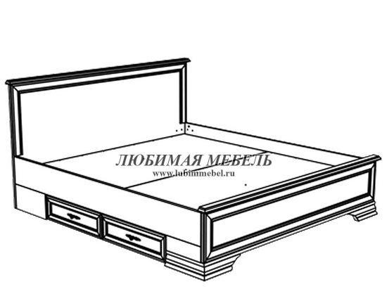 Кровать Кентаки (фото, вид 2)