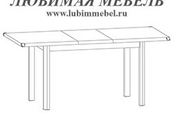 Стол обеденный Индиана (фото, вид 2)