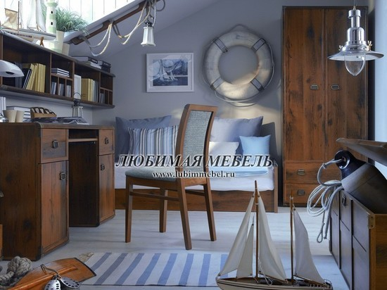 Стол письменный Индиана (фото, вид 11)