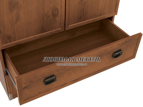 Шкаф с полками Индиана (фото, вид 5)