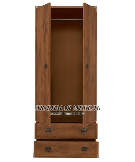 Шкаф со штангой Индиана (фото, вид 1)