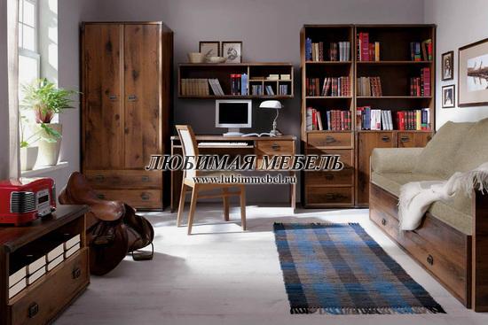 Шкаф со штангой Индиана (фото, вид 7)