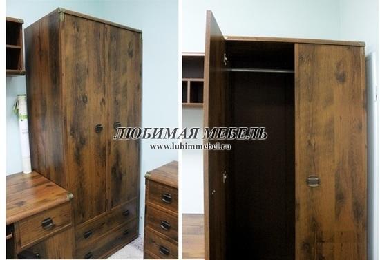 Шкаф со штангой Индиана (фото, вид 9)