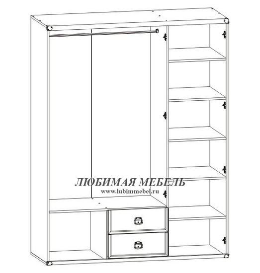 Шкаф Индиана (фото, вид 2)