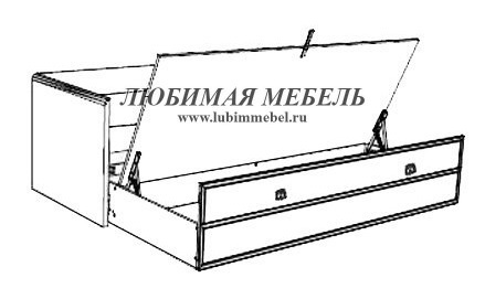 Диван-кровать Индиана (фото, вид 3)