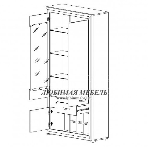 Шкаф Мальта (фото, вид 1)
