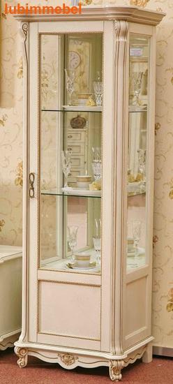 Шкаф с витриной Алези 8 (фото, вид 1)