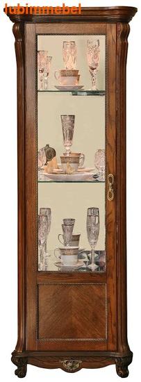 Шкаф с витриной Алези 8 (фото, вид 2)