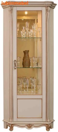 Шкаф с витриной Алези 10 (фото, вид 1)