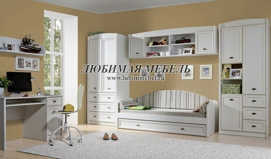 Шкаф комбинированный Салерно (фото, вид 2)