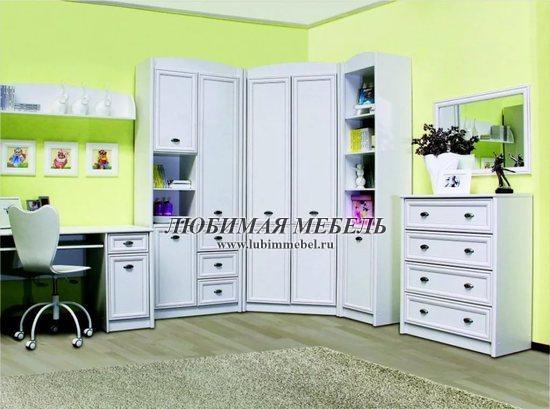Шкаф комбинированный Салерно (фото, вид 8)