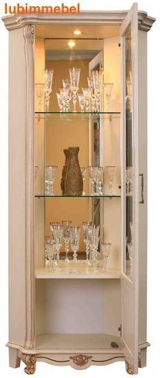 Шкаф с витриной Алези 10 (фото, вид 2)