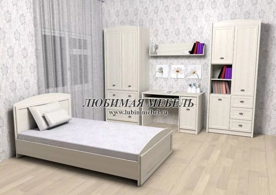 Шкаф комбинированный Салерно (фото, вид 10)