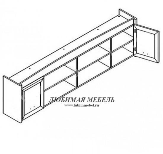 Шкаф настенный Салерно (фото, вид 1)