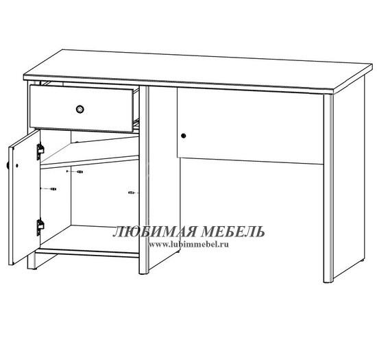 Стол письменный Порто (фото, вид 5)