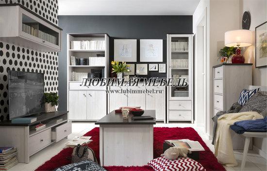 Шкаф комбинированный Порто (фото, вид 3)