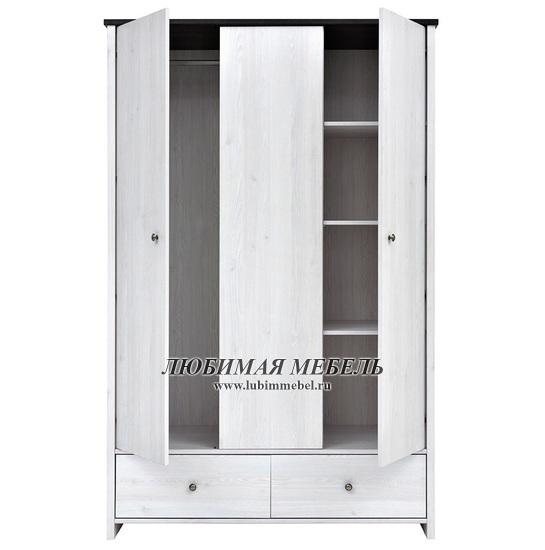 Шкаф платяной Порто (фото, вид 2)