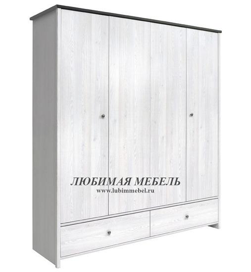 Шкаф платяной Порто (фото, вид 1)