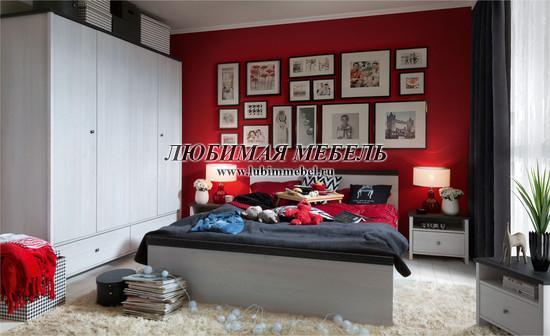 Шкаф платяной Порто (фото, вид 5)