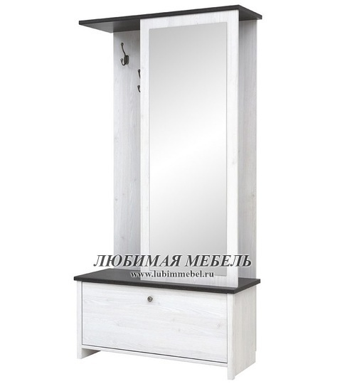 Шкаф с вешалкой Порто (фото, вид 1)