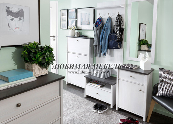Шкаф с вешалкой Порто (фото, вид 4)