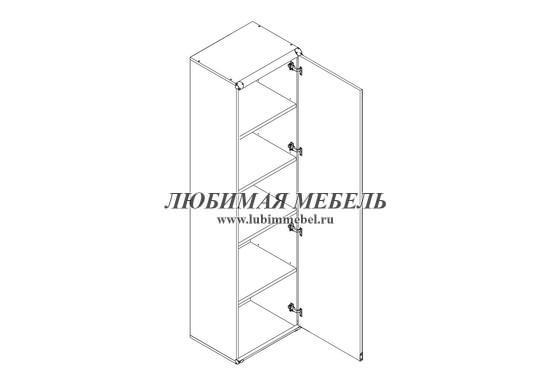 Шкаф Индиана JREG 1d (фото, вид 1)