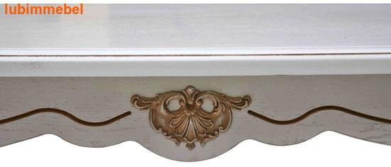 Стол обеденный Алези 2Е слоновая кость (фото, вид 1)