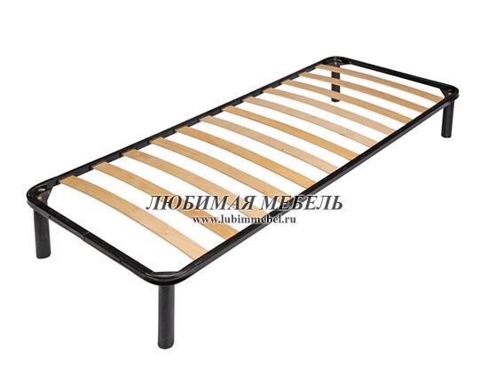 Кровать Коен LOZ90 (фото, основание металлическое на опорах)