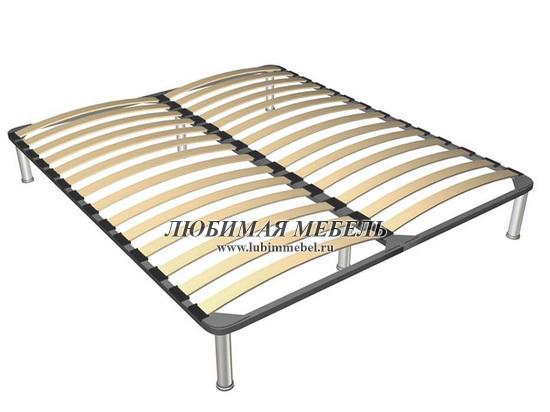 Кровать Коен LOZ140 (фото, основание металлическое на опорах)