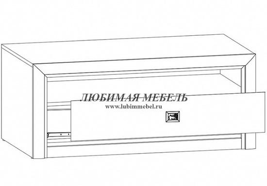 Тумба ТВ Коен RTV1S (фото, вид 1)