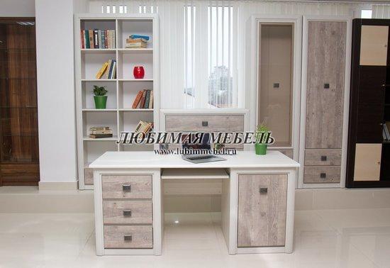 Стол письменный Коен BIU/130 (фото, Письменный стол Коен в интерьере)