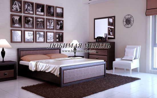 Комод Коен KOM4S (фото, Комод Коен KOM4S в интерьере спальни)