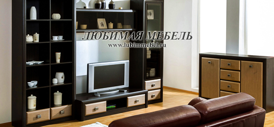 Витрина Коен REG1W2S (фото, Витрина Коен REG1W2S в интерьере гостиной)