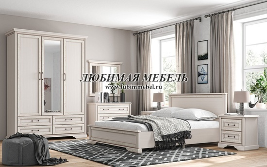 Зеркало Стилиус (фото, Зеркало Стилиус LUS90 в интерьере спальни)