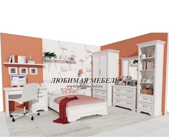 Кровать Стилиус (фото, Кровать Стилиус LOZ120x200 в интерьере детской)