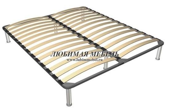 Кровать Стилиус (фото, основание металлическое с ламелями)