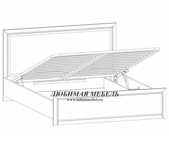 Кровать с подъемным механизмом Стилиус (фото, вид 1)