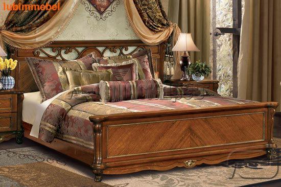 Кровать Алези античная бронза (фото, вид 1)
