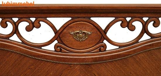 Кровать Алези античная бронза (фото, вид 4)
