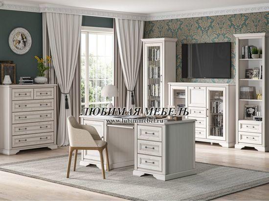 Шкаф Стилиус (фото, Шкаф REG1W2S Стилиус в интерьере домашнего кабинета)