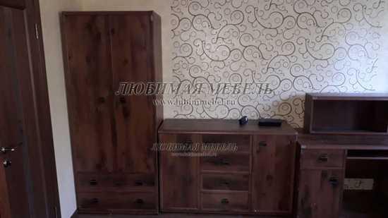 Шкаф со штангой Индиана (фото, вид 8)