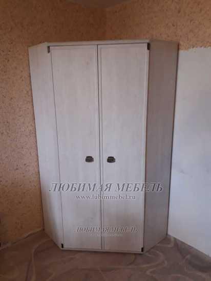Шкаф угловой Индиана (фото, вид 5)