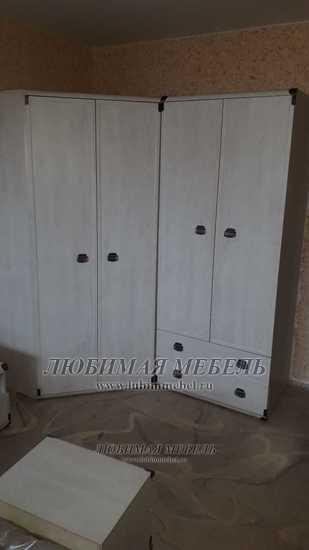 Шкаф угловой Индиана (фото, вид 6)