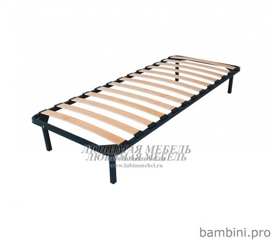Основание для кровати ортопедическое Кентаки, Индиана, Коен, Мальта, Каспиан (фото, вид 1)