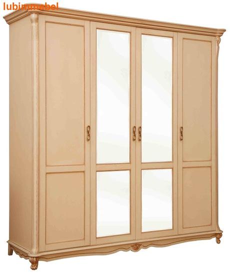 Шкаф 4-х дверный Алези (фото, вид 1)