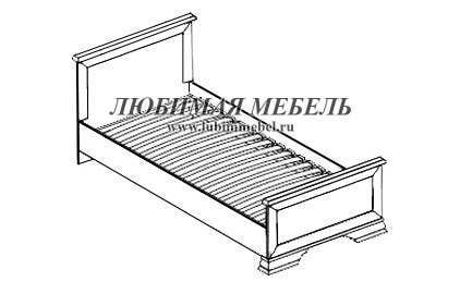 Кровать Кентаки (фото, вид 1)