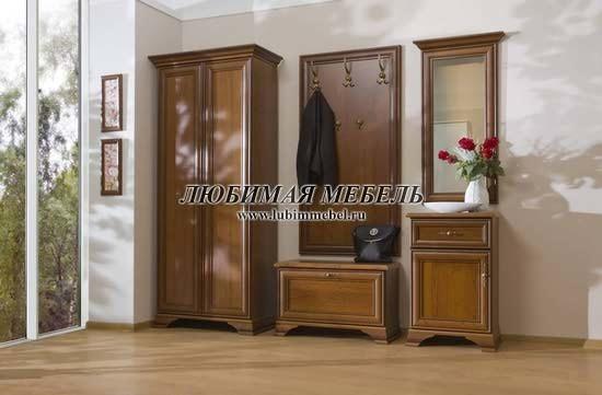 Шкаф с вешалкой Кентаки (левый) (фото, вид 2)